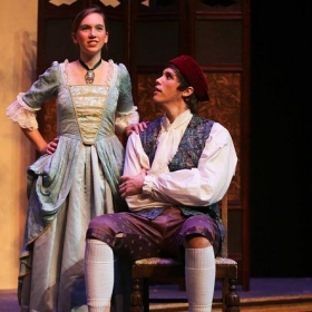 Katie as Rosina in Rossini's Il barbiere di Siviglia