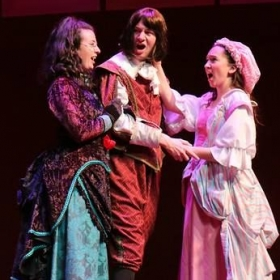 Katie as Patience in Gilbert & Sullivan's Patience
