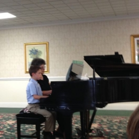 Piano studio recital 2015