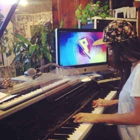 International DJ Helena loves to write n record her new songs