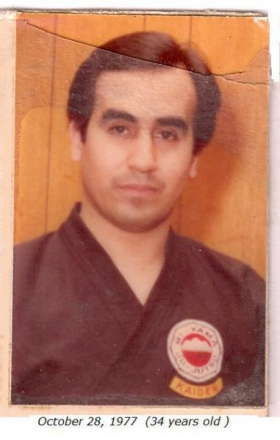 Sensei Alvarez- Rank- Kaiden         Mi yama-ryu-It started with Sensei and still has not ended.