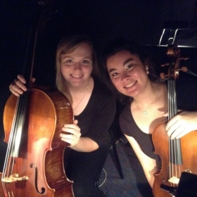 As principal cellist of the MSU pit orchestra- playing for Honk the Musical!