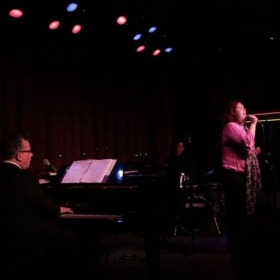 Carly Ozard and Billy Stritch at Birdland Jazz Club, NYC