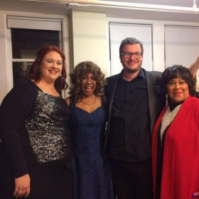 Carly Ozard, Original Supreme, Mary Wilson, America's Got Talent Finalist Jason Brock, Original Weather Girl Martha Wash.