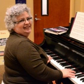 Playing on a 12 ft. Steinway, Federal Way City Hall