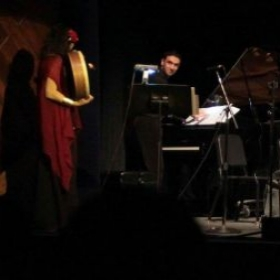 Playing the piano and directing the Berklee Middle Eastern Festival Ensemble and Balkan Choir