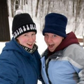 2013 - Snowshoeing with the Sister-in-Law
