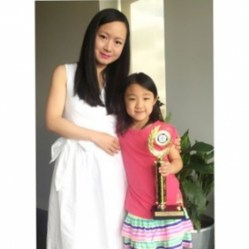 My student won 1st prize of Solo Piano Illinois Music Competition!