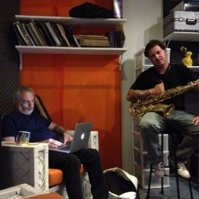 recording with Donald Fagen (Steely Dan)