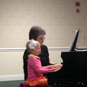Piano recital 2016 Ruthie