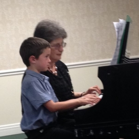 Piano recital 2016 Joseph