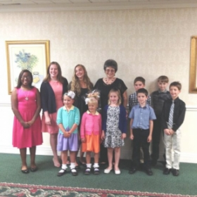 Piano recital June 2016 at St. Paul's