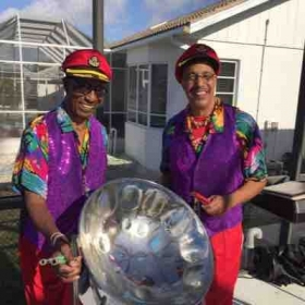 Tony and Alonzo Smith Steel Drum Show