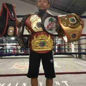 Amateur Champion Daniel Barrera has been training fir 2 years. Chucky is a tremendous boxer with unbelievable skills.