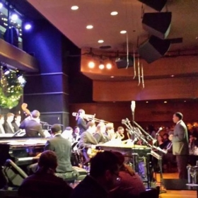 Soloing at Dizzy's Club Coca Cola with the Jazz at Lincoln Center Youth Orchestra directed by Vincent Gardner