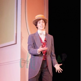 Singing Cheubino in Mozart's the Marriage of Figaro with Opera Theater Pittsburgh