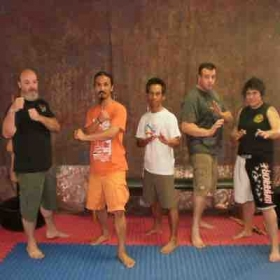 With Yogi Dada Luna, Shishir Inocalla and Master Denson in Cocoa Beach