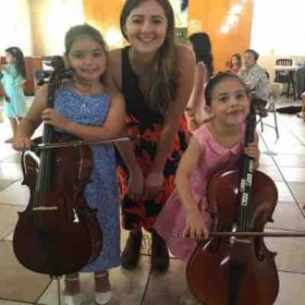 My beginning cello students of GMYS