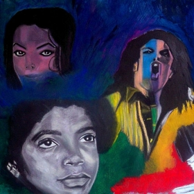 Artist: Tara Scott (Michael Jackson Collage)