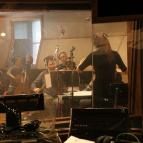 Conducting one of my film scores