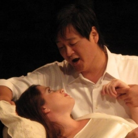 As Alfredo in Verdi's La Traviata (Aspen Opera Theater, 2009)