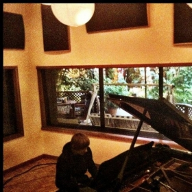 Working at Conway Recording Studios!