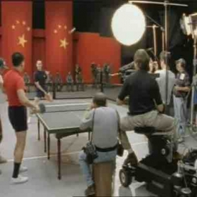 Ping Pong rehearsal  on the set of Forrest Gump !
