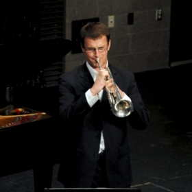William performing in the 2012 International Trumpet Guild Solo Competition