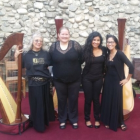 Student Community Performance at a Castle in Glendora, April 2016