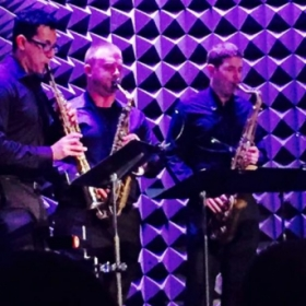 Comedian Tim Girrbach's Birthday Sax! featuring the Garden State Saxophone Quartet @ Joe's Public Theater NY, NY