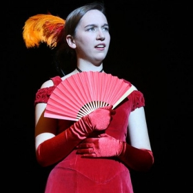 Katie as Valencienne in The Merry Widow
