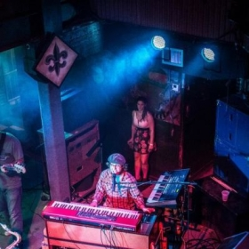 Performing at the world-famous Tipitina's in New Orleans, LA.