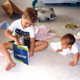 I liked teaching, even when I was little.