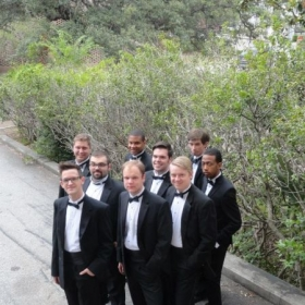 2012 Bass Section Westminster Choir at Spoleto Festival USA