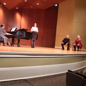 Master Class with Grammy winning composer William Bolcom and his wife Mezzo Joan Morris