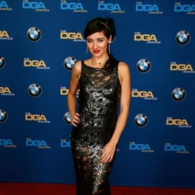 On the red carpet at the DGA awards