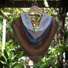 Example of on of my crochet shawls.