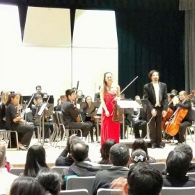 Lucy's Solo performance with orchestra