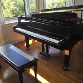 Home piano studio