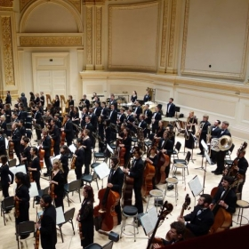 Performance in Carnegie Hall, 2014.