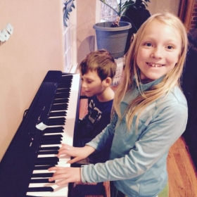 Practicing at home is fun too!