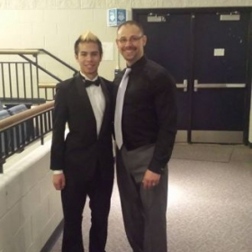 My High School Director and Voice Teacher, Mr. Nesseth.