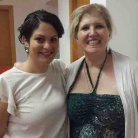 International Opera program in Italy with Greek Soprano Laden Ince following my Master Class
