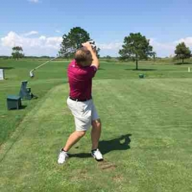 Here I am practicing in between lessons in Texas City.