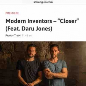 My band Modern Inventors