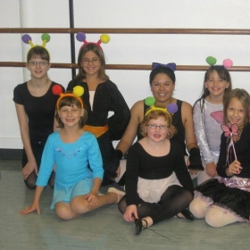 Halloween Week with Beginner Ballet 2011