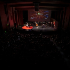 Performing at TEDx Napa Valley, 2015.