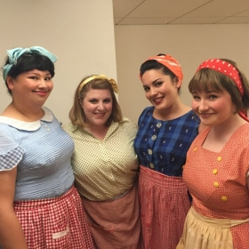 Chorus ladies for the 2015 SFCM opera  l'Elisir d'Amore!