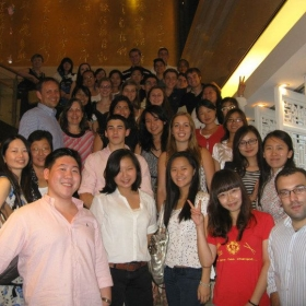 Welcome Dinner with all Summer Camp students