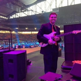 Ford Field performing with The Motortown All-Stars